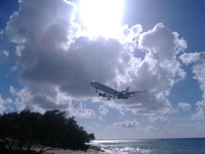 KlM arrival into Bonaire