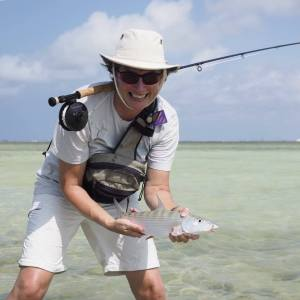 Capture the elusive Bonefish on Bonaire- Photo by Heino Timmerman
